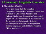 1 2 aramaic linguistic overview61