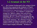 1 2 aramaic the nt66