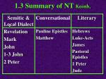 1 3 summary of nt koinh