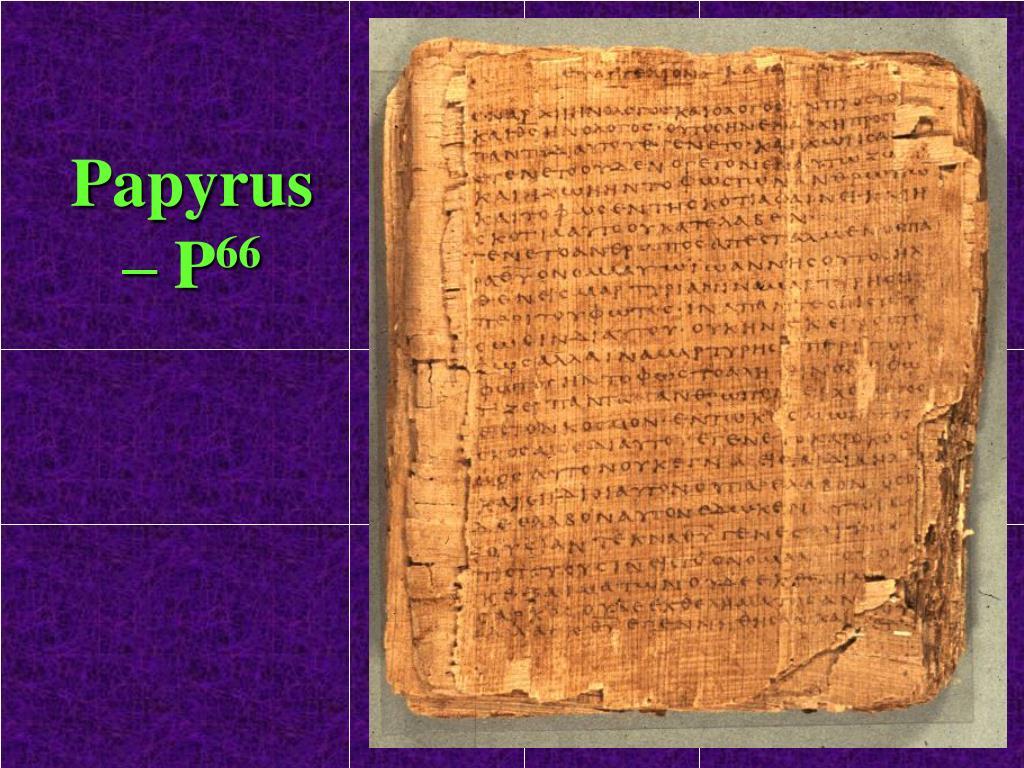 Papyrus – P