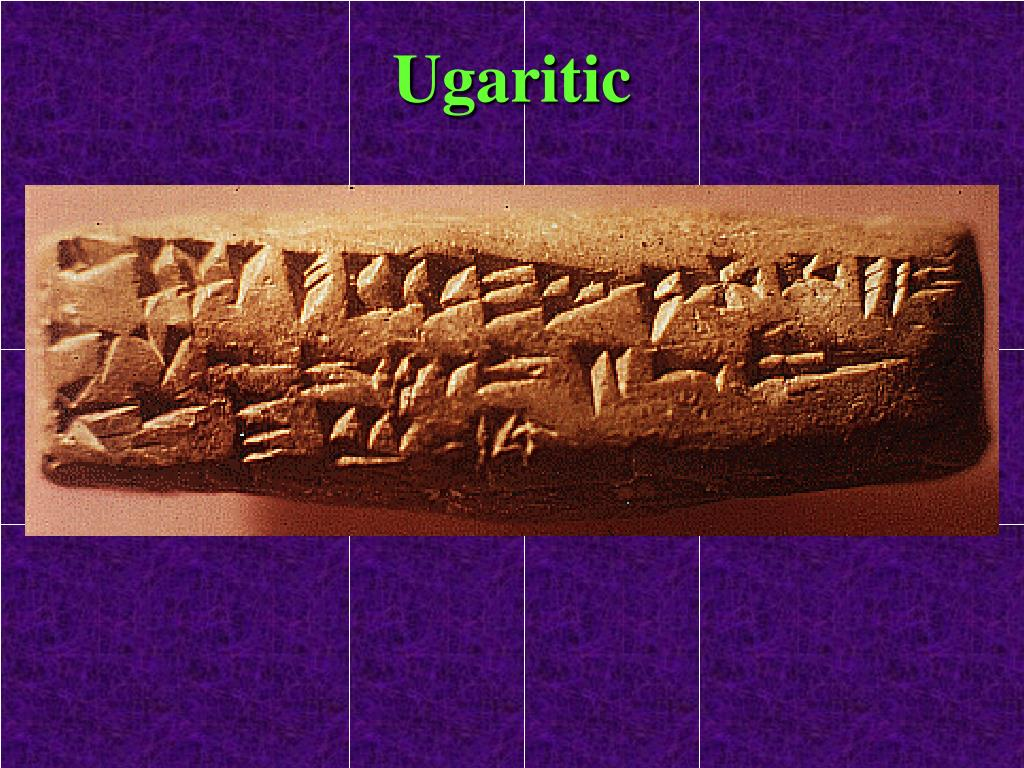Ugaritic