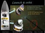 launch orbit