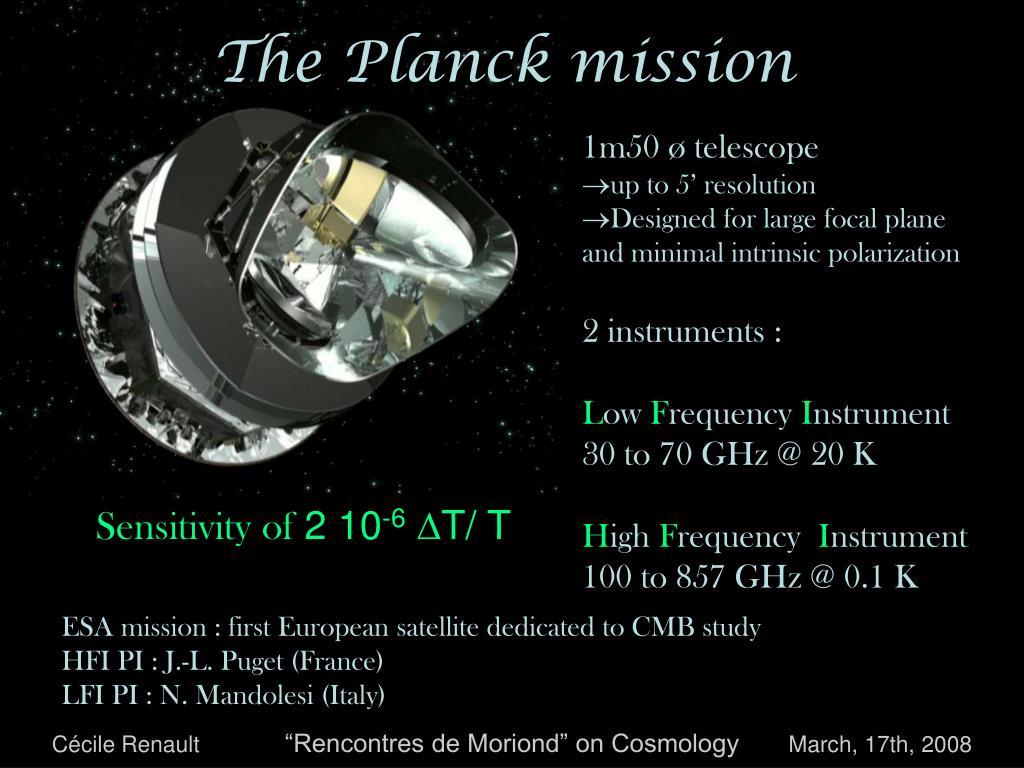 The Planck mission