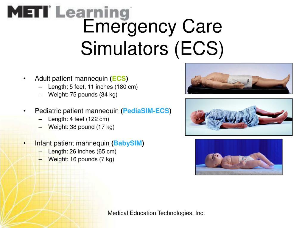 Emergency Care Simulators (ECS)