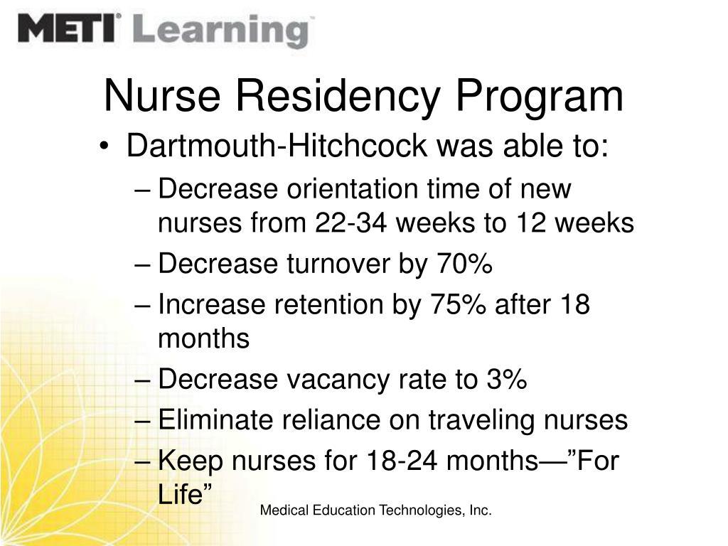 Nurse Residency Program