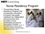 nurse residency program25