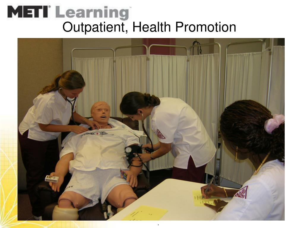 Outpatient, Health Promotion