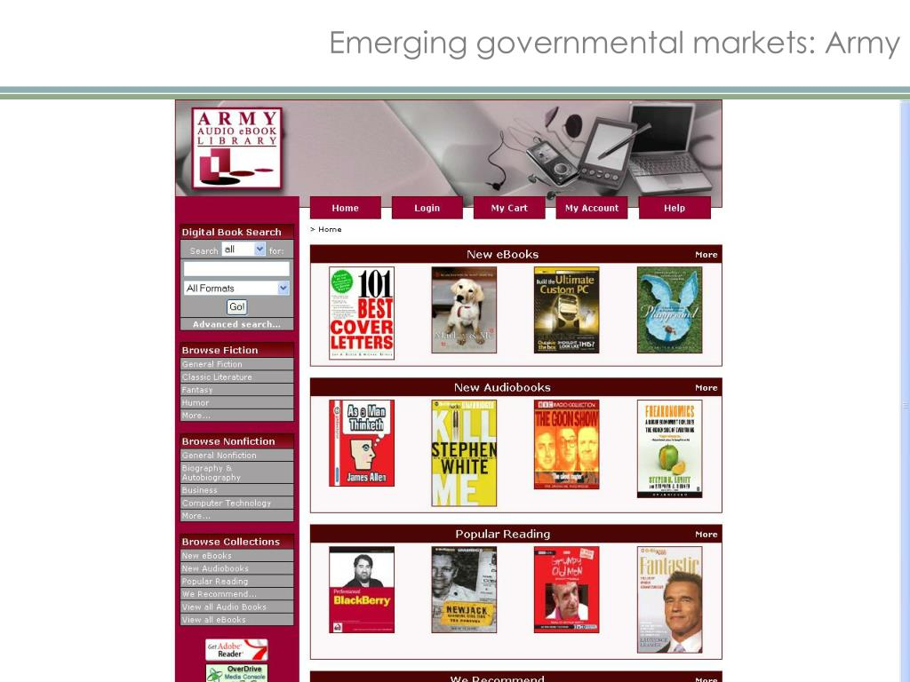 Emerging governmental markets: Army