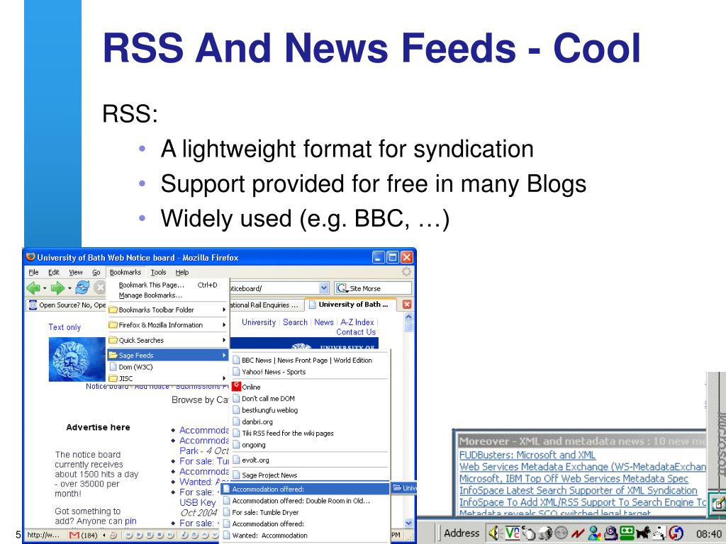 RSS And News Feeds - Cool