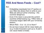 rss and news feeds cool6