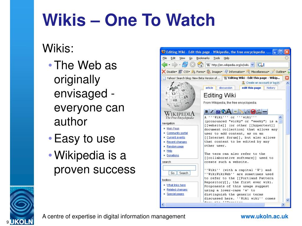 Wikis – One To Watch