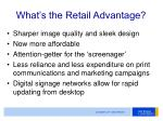 what s the retail advantage