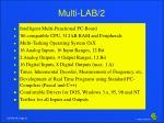 multi lab 2