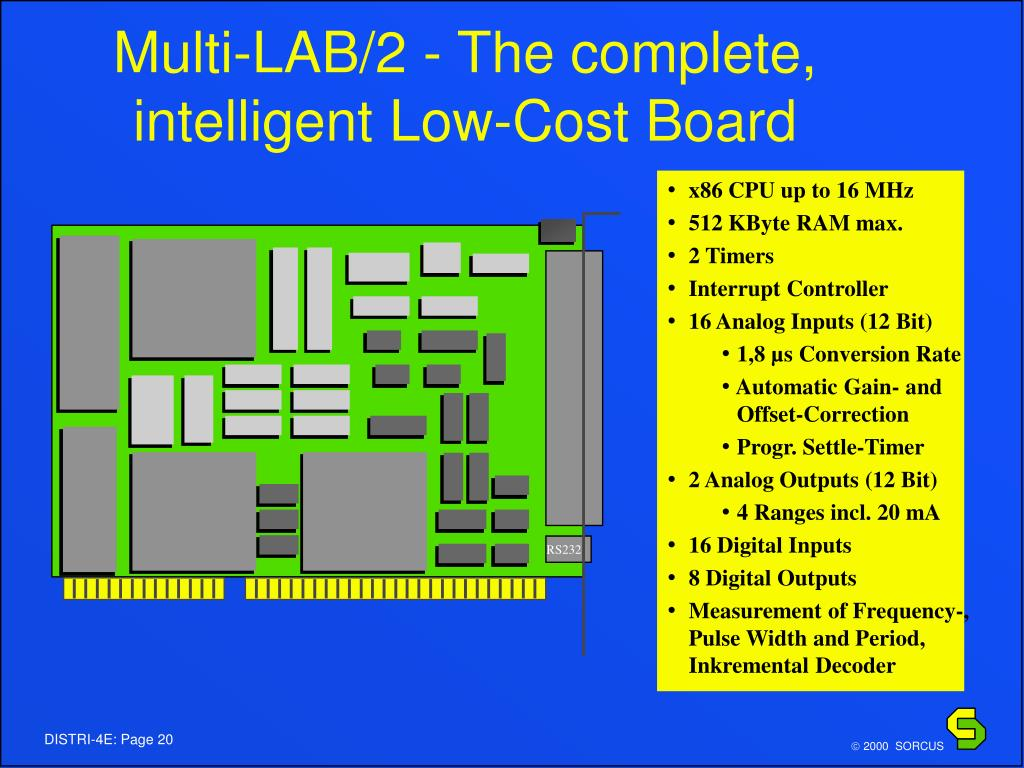 Multi-LAB/2 - The complete, intelligent Low-Cost Board
