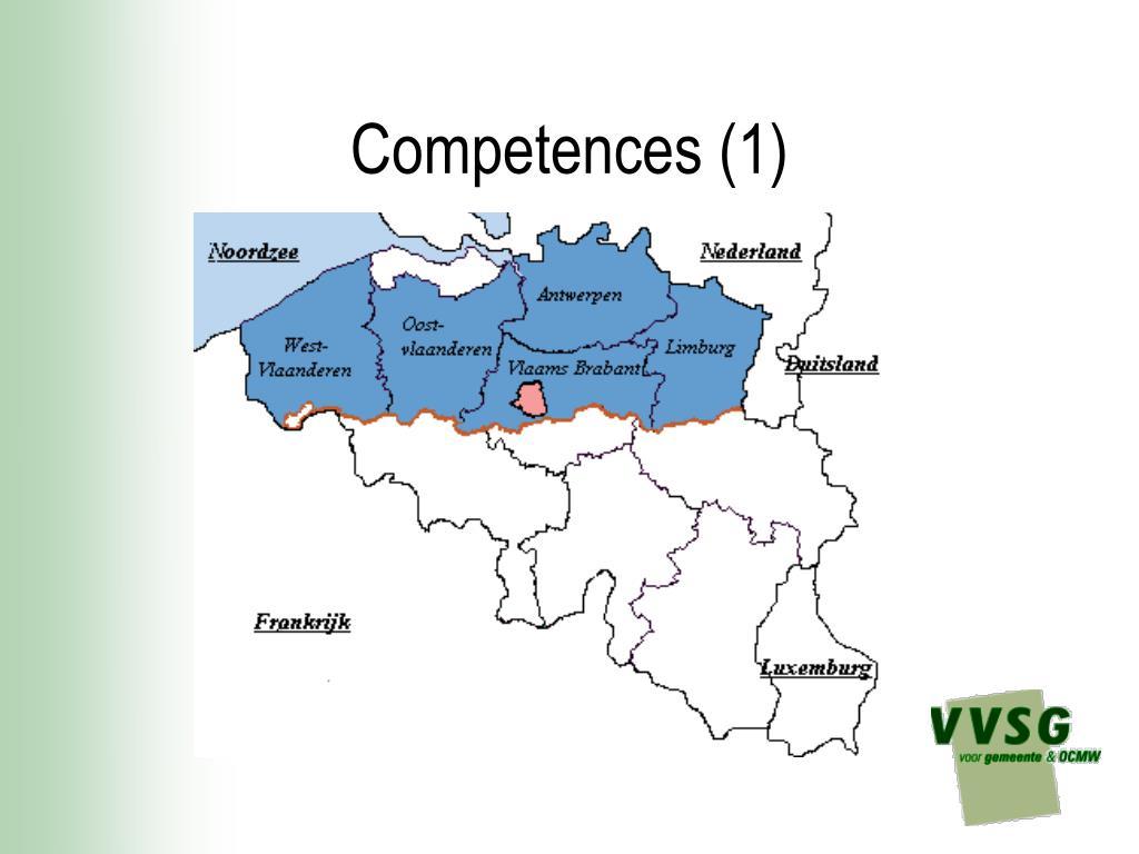 Competences (1)