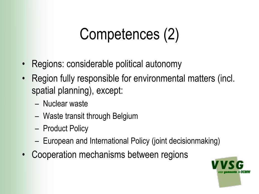 Competences (2)