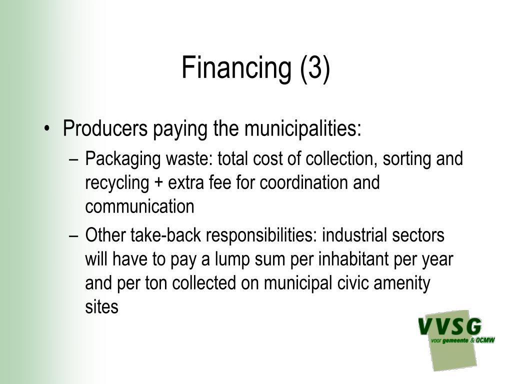 Financing (3)