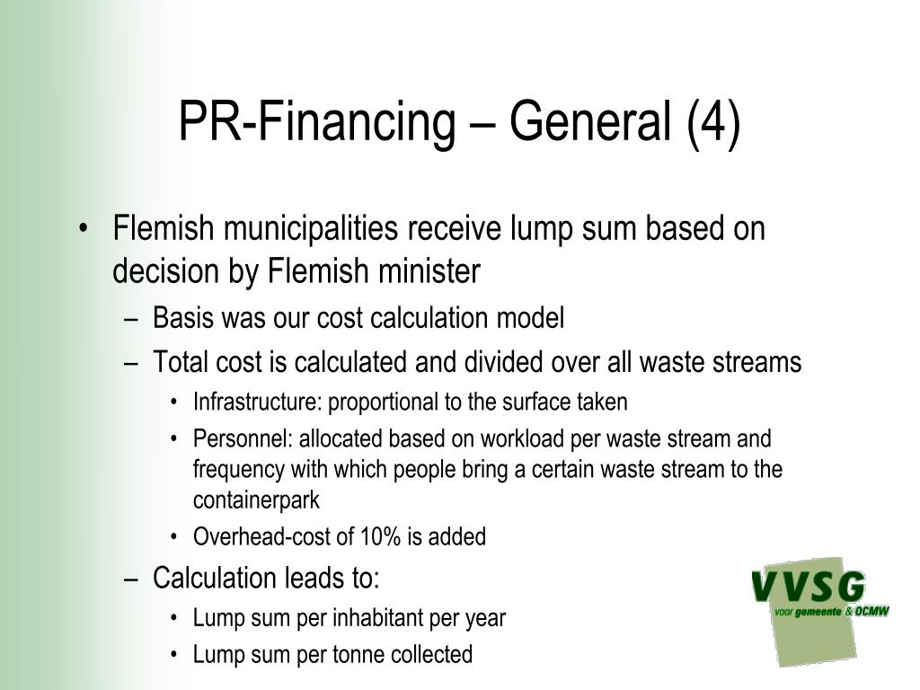 PR-Financing – General (4)
