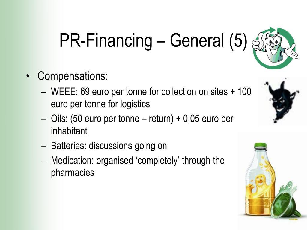 PR-Financing – General (5)