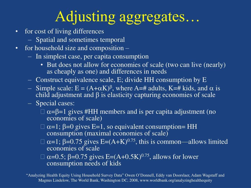 Adjusting aggregates…