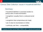 census data collection issues in household definition9