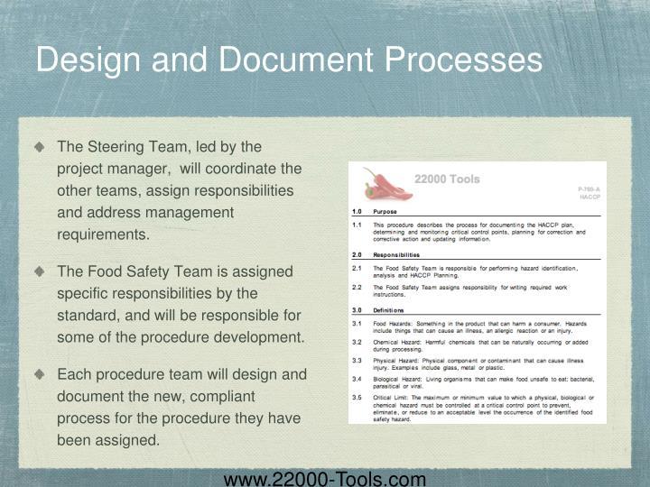 Design and Document Processes