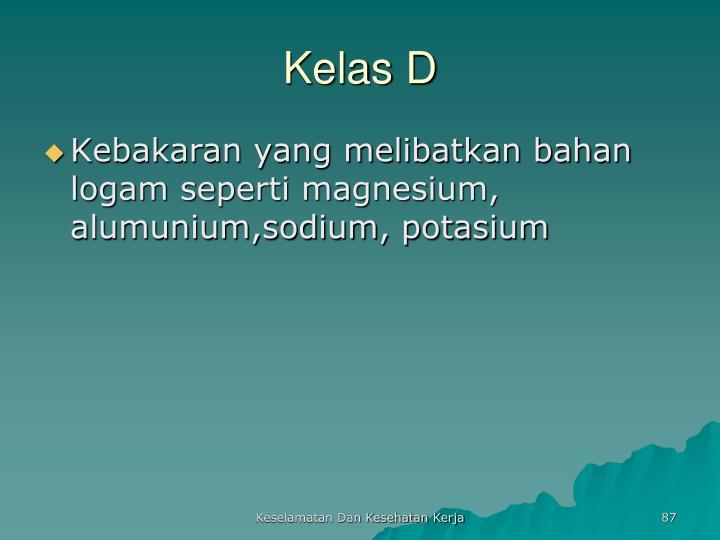 Kelas D