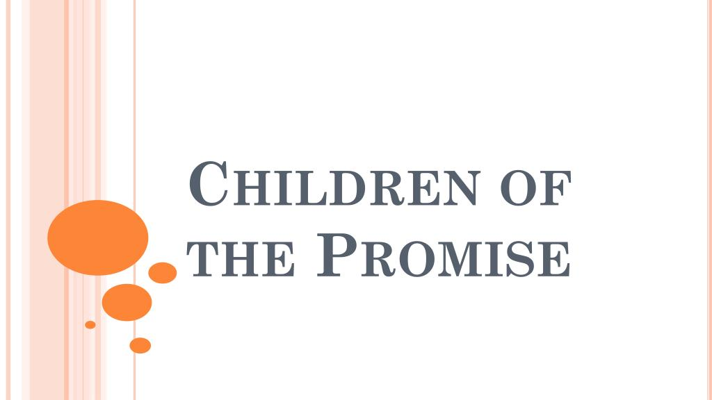 children of the promise l.