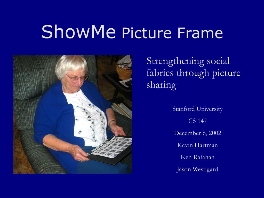 showme picture frame l.