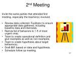 2 nd meeting