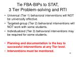 tie fba bips to stat 3 tier problem solving and rti1