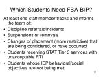 which students need fba bip1