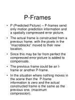 p frames