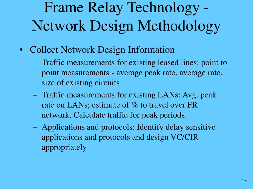 Frame Relay Technology -