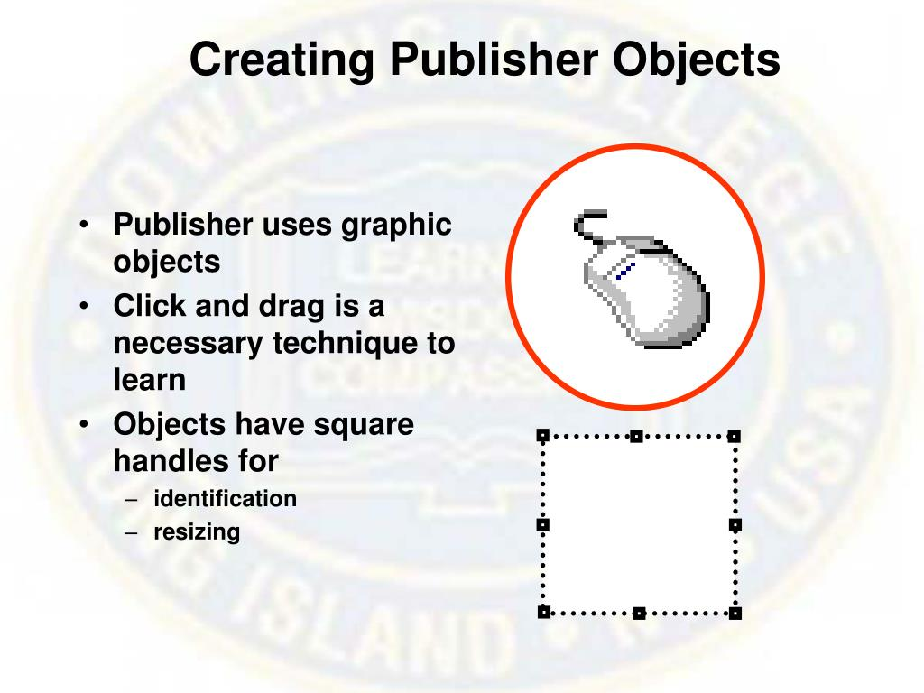 Creating Publisher Objects