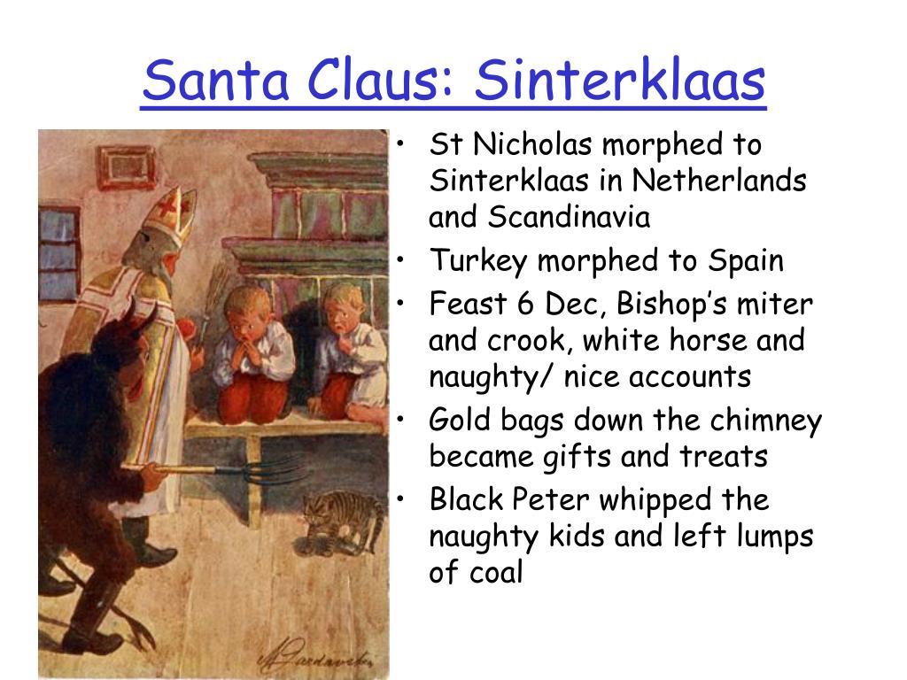 Santa Claus: Sinterklaas