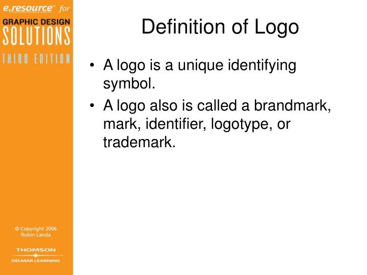 Ppt Chapter 6 Logossymbolspictograms Powerpoint Presentation