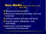 new media krueger 1977 heller ed 2001 maeda 2000