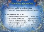 modeling quandary13