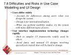 7 8 difficulties and risks in use case modelling and ui design