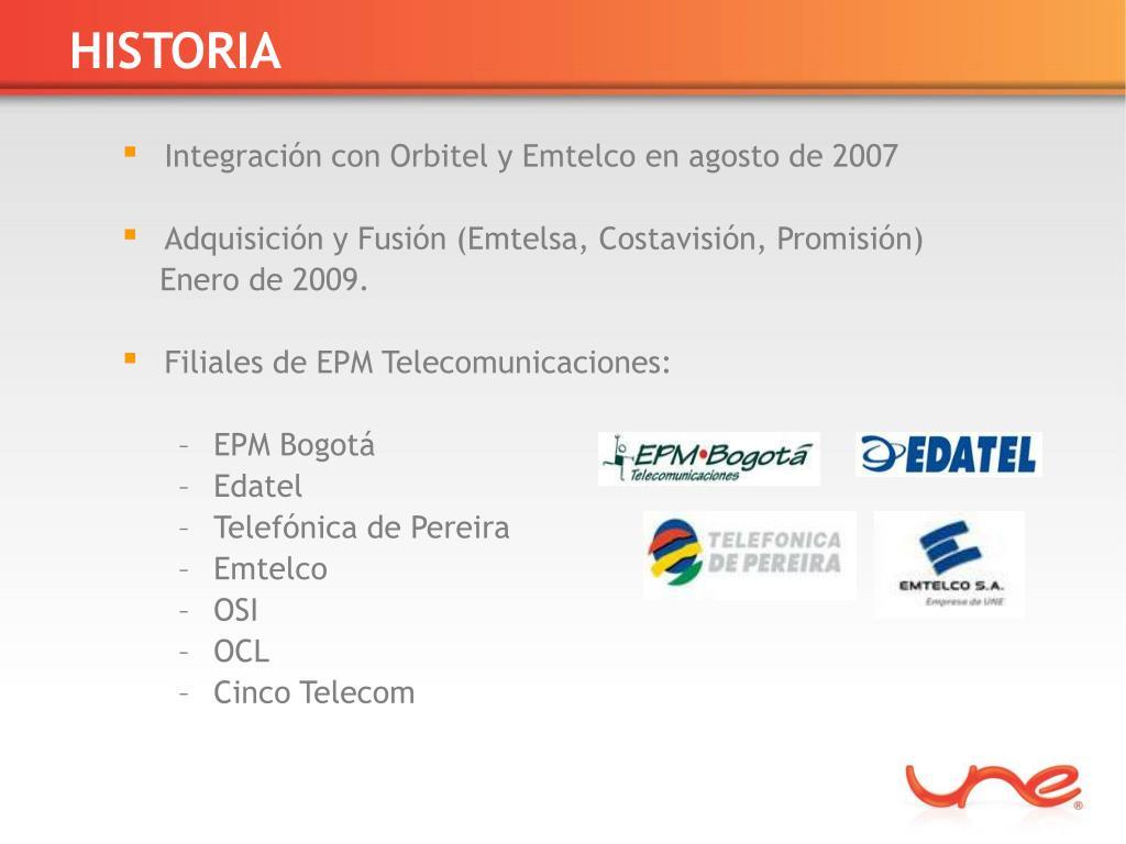 PPT - CONTRATACIÓN EPM TELECOMUNICACIONES S A  E S P