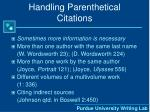 handling parenthetical citations