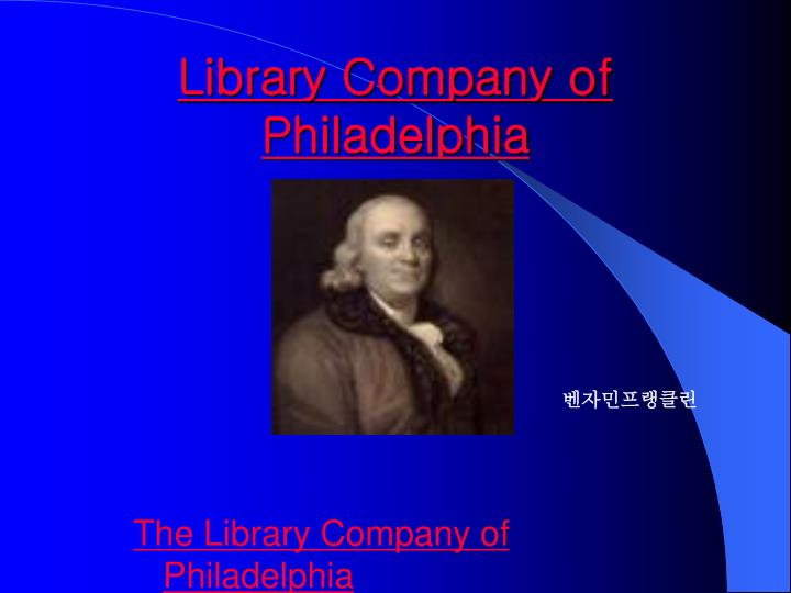Library Company of Philadelphia