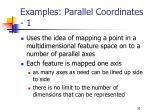 examples parallel coordinates 1