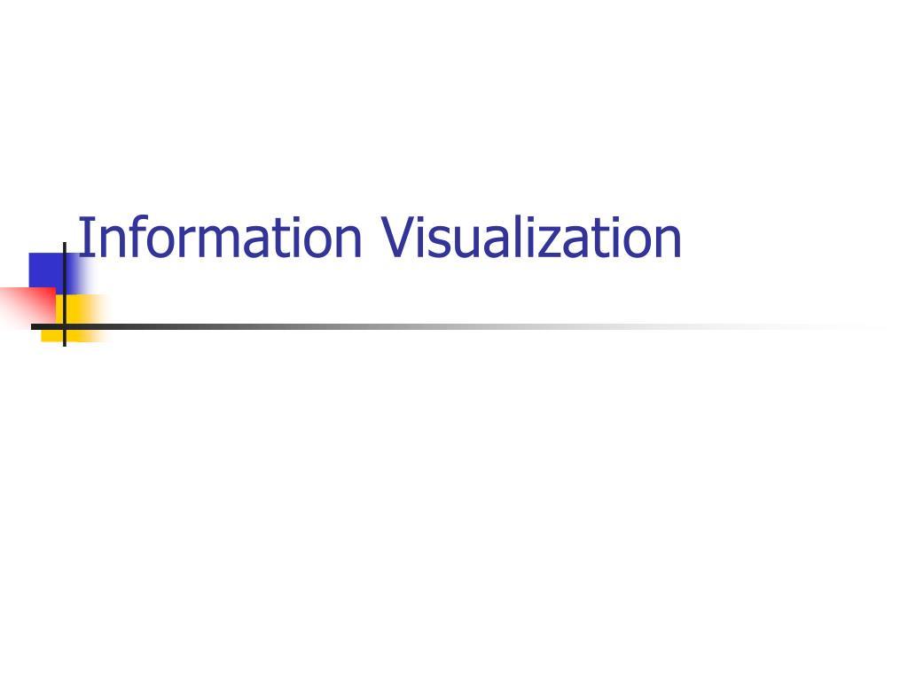 information visualization l.