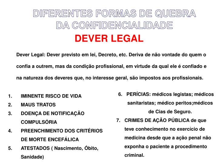 DEVER LEGAL