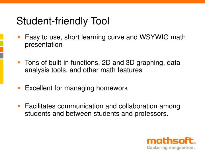Student-friendly Tool