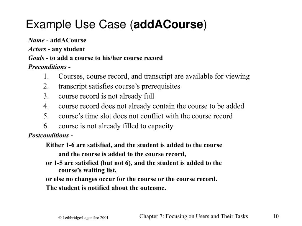 Example Use Case (