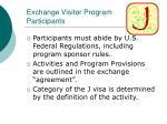 exchange visitor program participants
