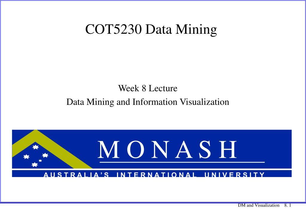 cot5230 data mining l.